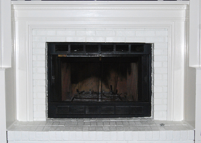 Give New Flare to a Fireplace